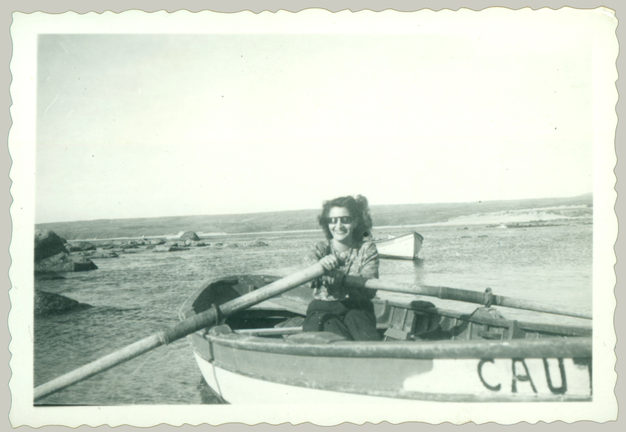 žena vesla