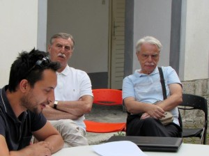 Polkaview sa Sašom Lekovićem. Marin Bakić, Danko Plevnik i Vlado Dražić. Foto: Marijan Bakić