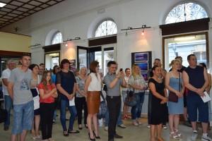 Otvorenje izložbe Olivera Švoba u Knjižnici za mlade 15. lipnja 2015. Foto: Knjižnica za mlade