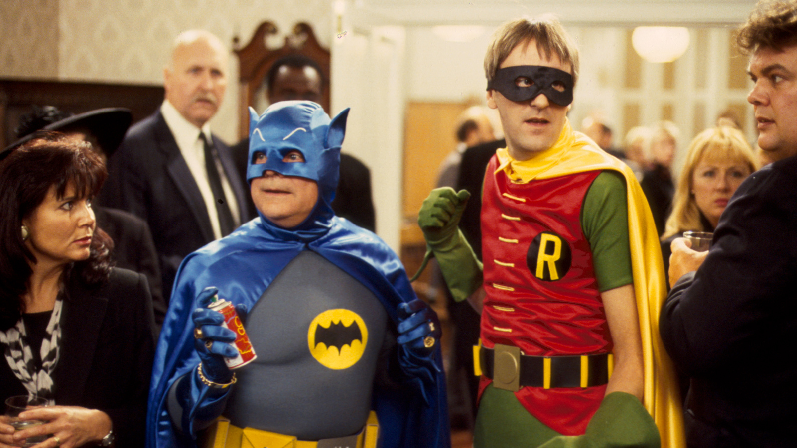 Delboy and Rodney as Batman and Robin. Screenshot