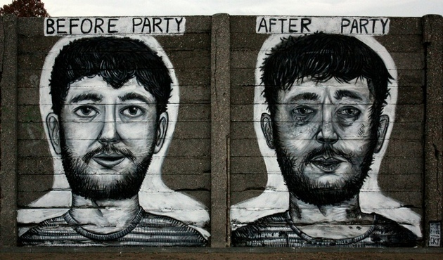 "Stipan Tadić: ""Before Party, After Party"". Izvor: http://www.journal.hr/wp-content/uploads/2015/04/Stipan-Tadi%C4%87-Before-party-After-Party.jpg"