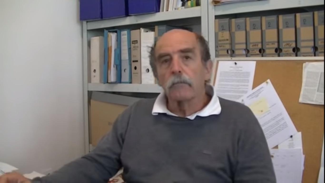 Zoran Pusić, predsjednik Antifašističke lige Hrvatske. Foto: Screenshot.