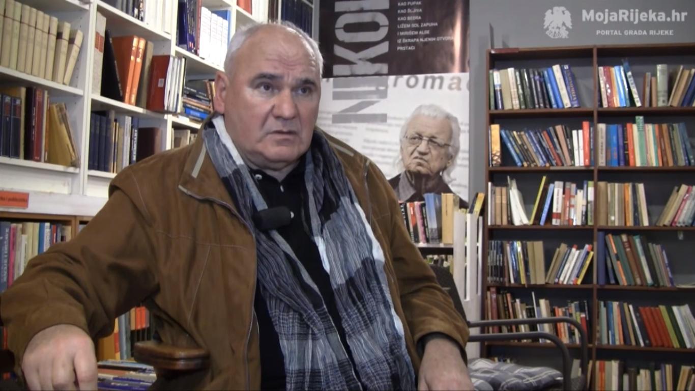 Velimir Visković. Izvor: Screenshot