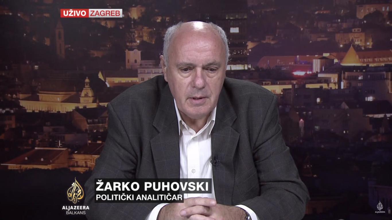 Žarko Puhovski. Foto: Screenshot.
