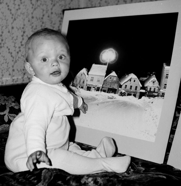 Dinko Neskusil 1966. Foto: Zdravko Neskusil. Izvor: Kafotka