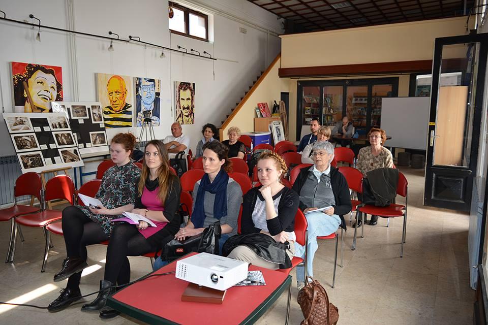 Dan makedonske kulture u Knjižnici za mlade u Karlvocu 16. travnja 2016. Foto: Marinko Polović