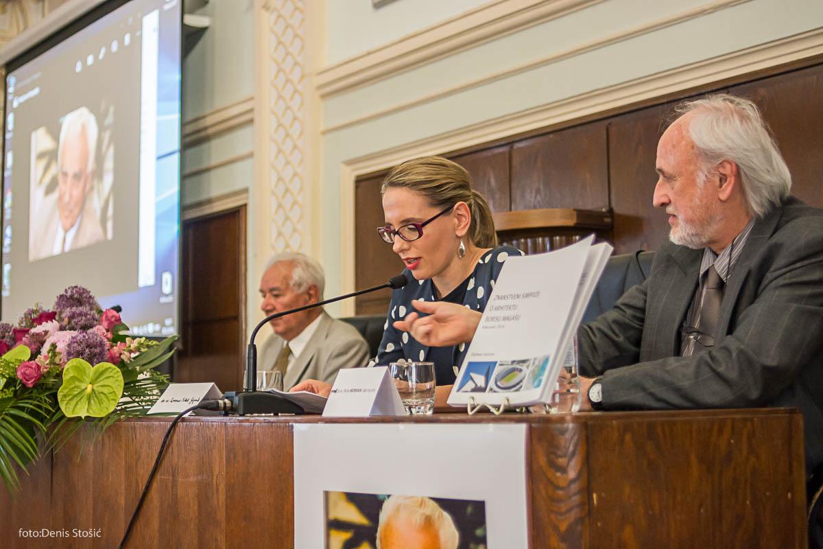 Predstavljanje zbornika radova sa simpozija o Branku Magašu. Foto: Denis Stošić/Udruga za zaštitu i razvoj prirodne i kulturne baštine Karlovca
