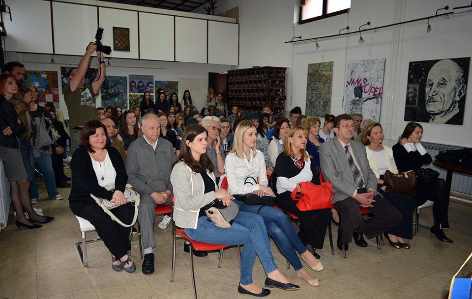 Tribina o Ivanu Supeku u Knjižnici za mlade u Karlovcu 9. svibnja 2016. godine. Foto: Igor Čepurkovski/Knjižnica za mlade