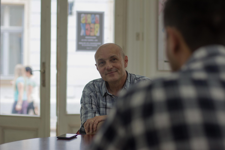 Boris Beck 6. 6. 2016. u Karlovcu. Foto: Marinko Polović/Knjižnica za mlade