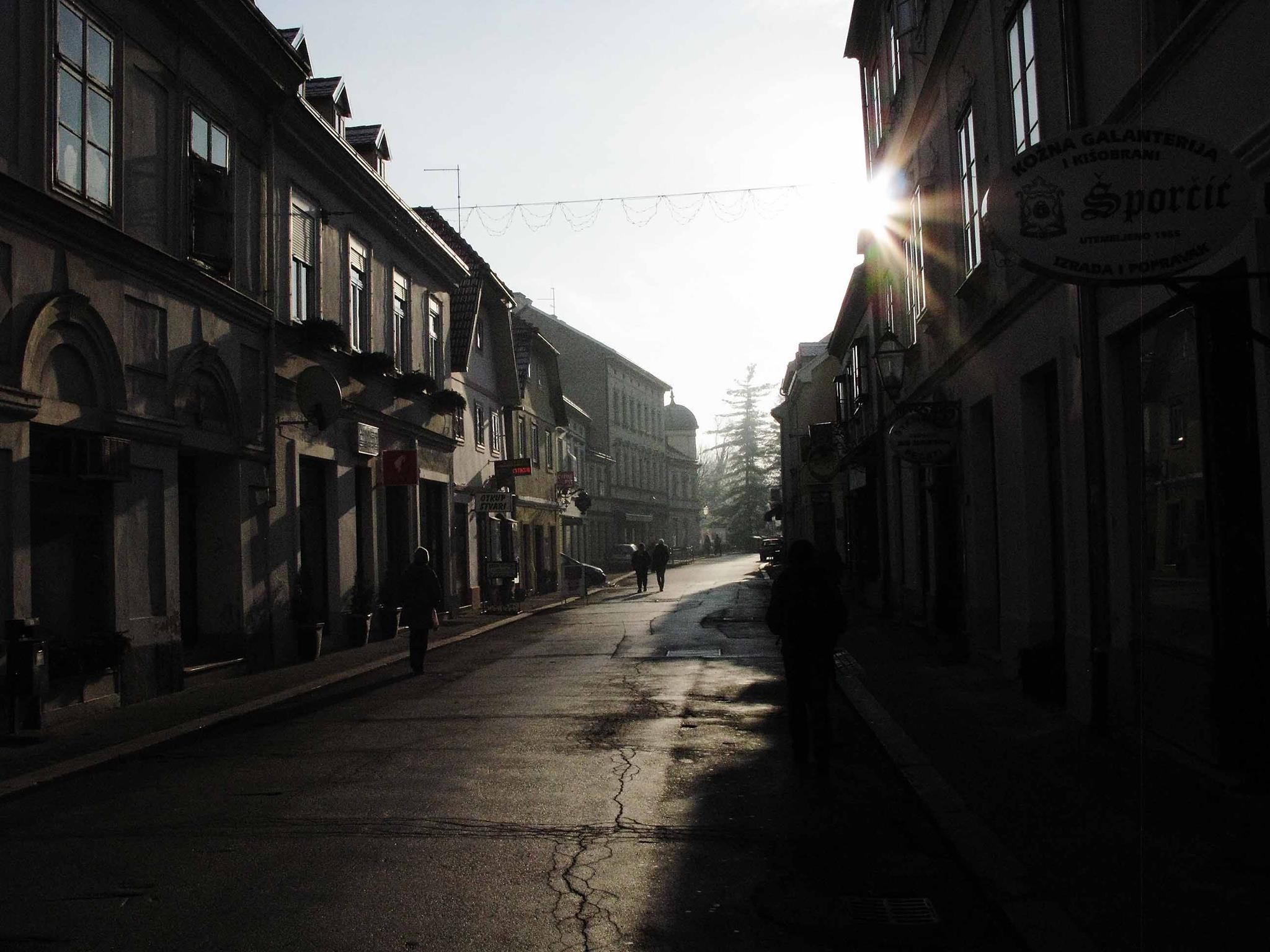 Radićeva ulica, Karlovac. Foto: Miodrag Vasilj