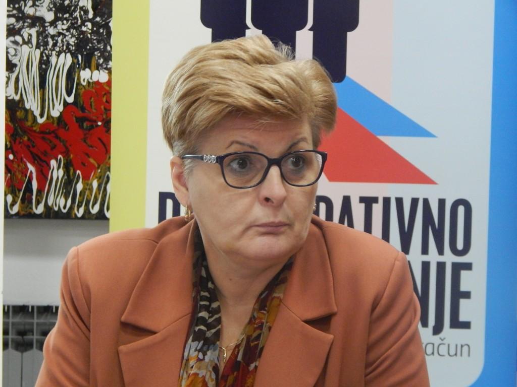 Lidija Malović, Knjižnica za mlade, 13. 12. 2016. Foto: Marin Bakić