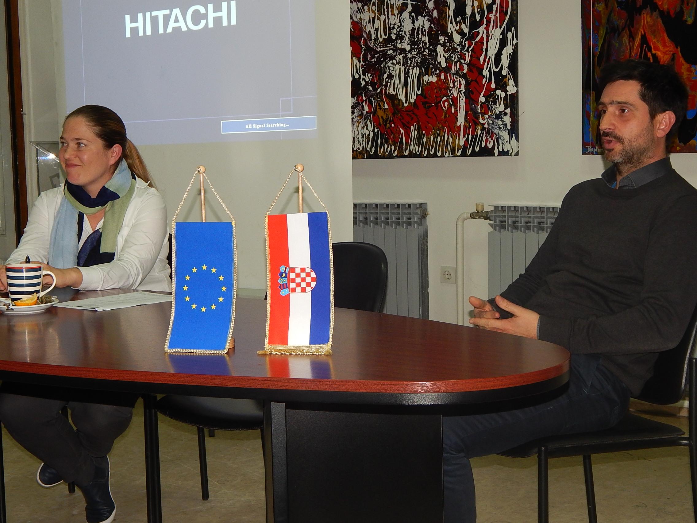 Miranda Veljačić i Dinko Peračić. Karlovac, 28. 12. 2016. Foto: Marin Bakić