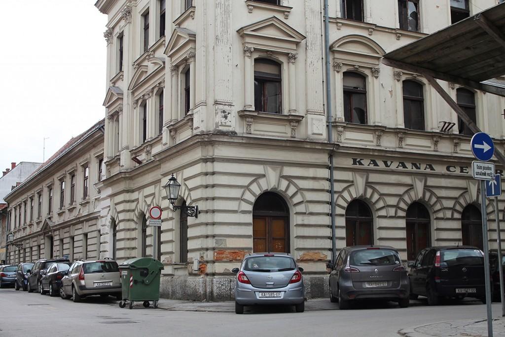 Hotel Central, Karlovac, 24. 2. 2017. Foto: Miodrag Vasilj