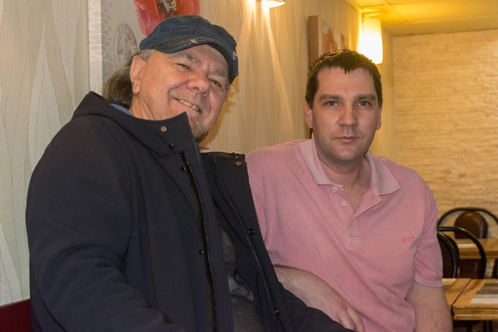 Ante Toni Janković & Željko Kovačević (pizzeria Orca). Foto: Marinko Polović