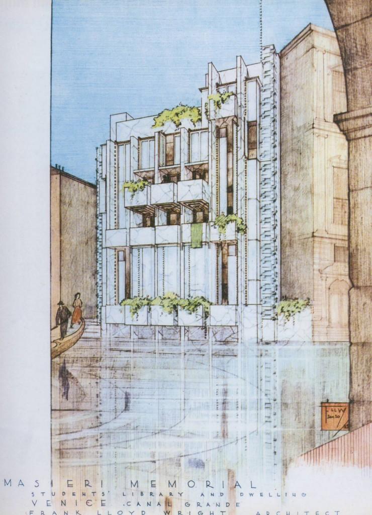 Projekt Lloyda Wrighta u Veneciji