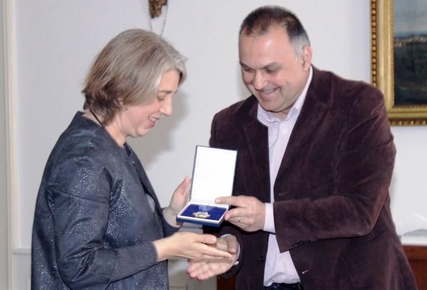 Ana Matan i Damir Jelić, Karlovac, 19. 4. 2017., foto: Oliver Budimir/Grad Karlovac. Izvor: www.karlovac.hr