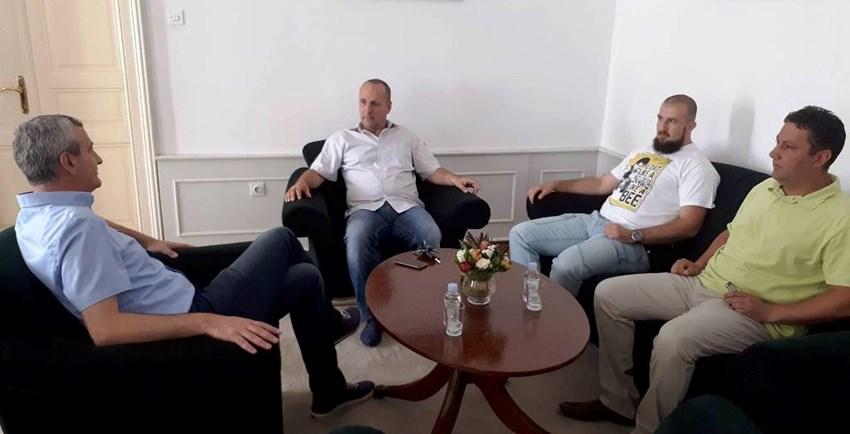 Damir Mandić, Davor Petračić, Nikola Badovinac, Davorin Andrijašević. Izvor: Karlovac.hr