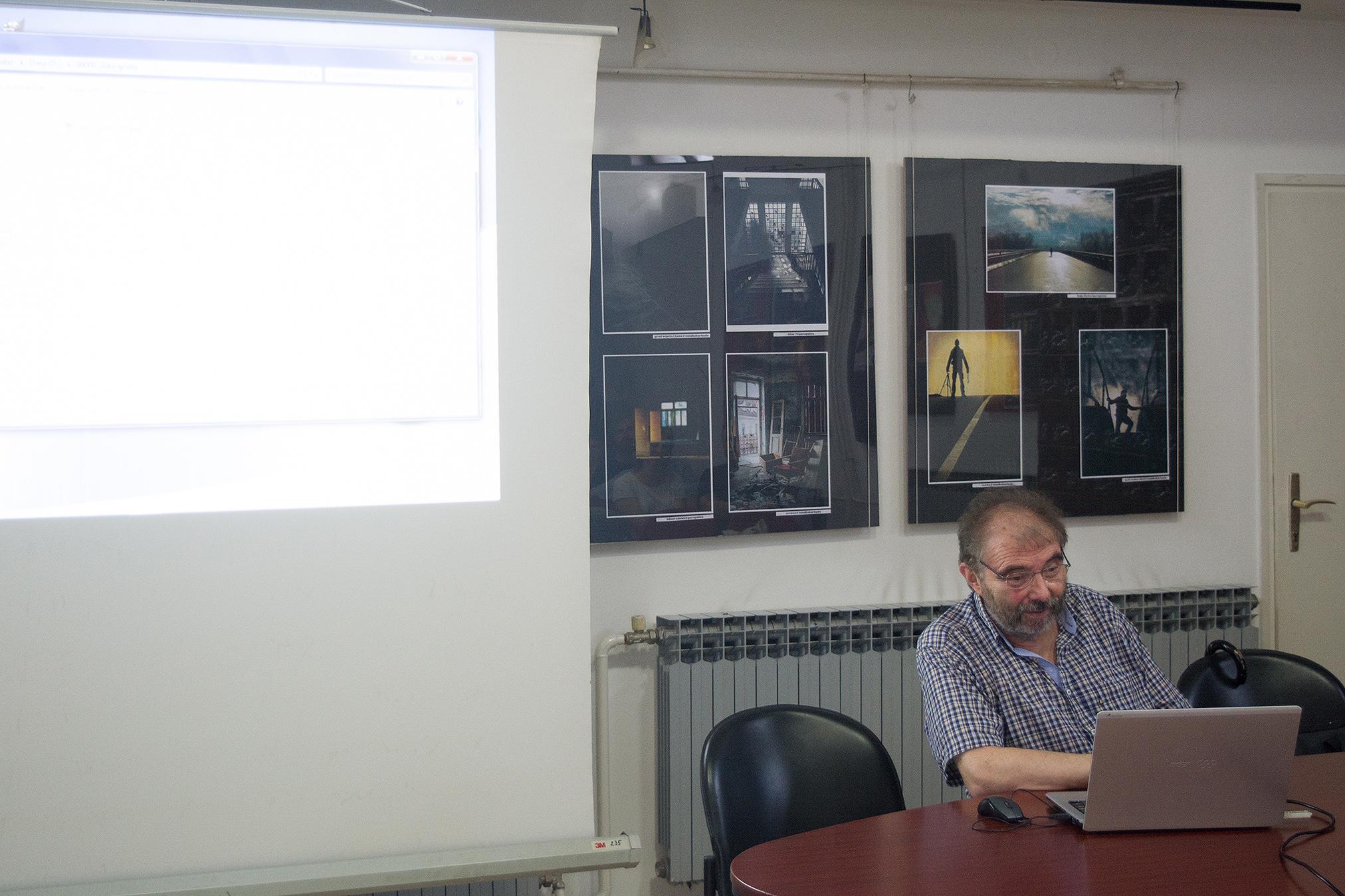 Vladimir Petrović, Knjižnica za mlade, Karlovac, 20. 6. 2017. Foto: Marinko Polović