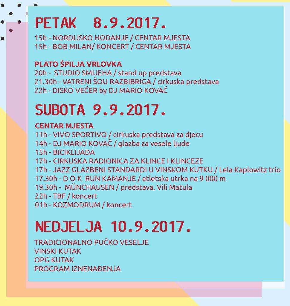 Program festivala DOK 2017.
