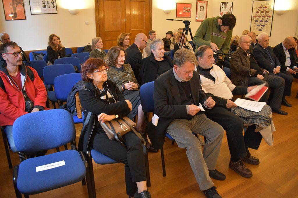 Komemoracija za Stanka Lasića organizaciji Hrvatskog društva pisaca, Zagreb, 10. 10. 2017. Foto: Marin Bakić