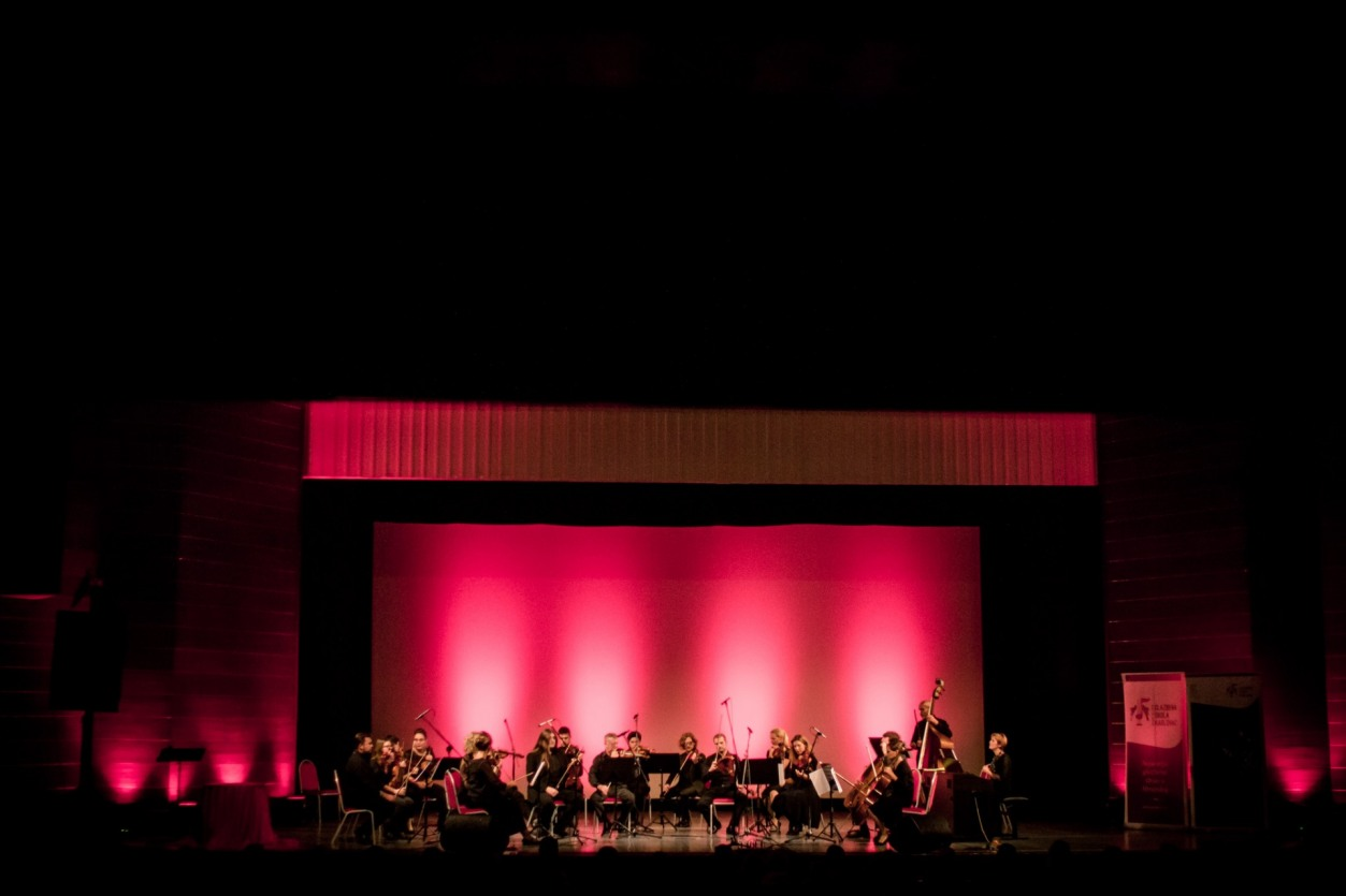 Koncert Karlovačkog komornog orkestra sa Stefanom Milenkovićem, Dom OS HV Zrinski, Karlovac, 3. 10. 2017. Foto Demjan Rožman
