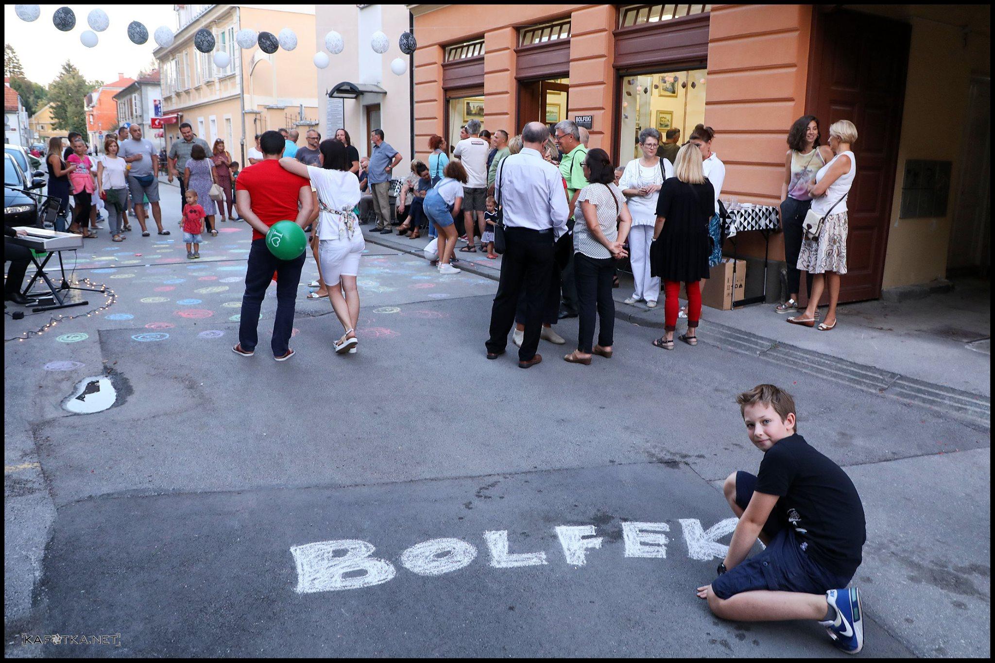 """Otvorenje Studija """"Bolfeki"""", Karlovac. Foto: Dinko Neskusil."""
