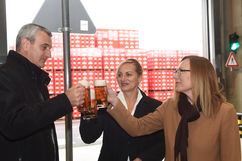 Damir Mandić, Valentila Belavić, Ljudmila Bratko, Karlovac, 13. 11. 2017. Foto i izvor: Heineken Hrvatska