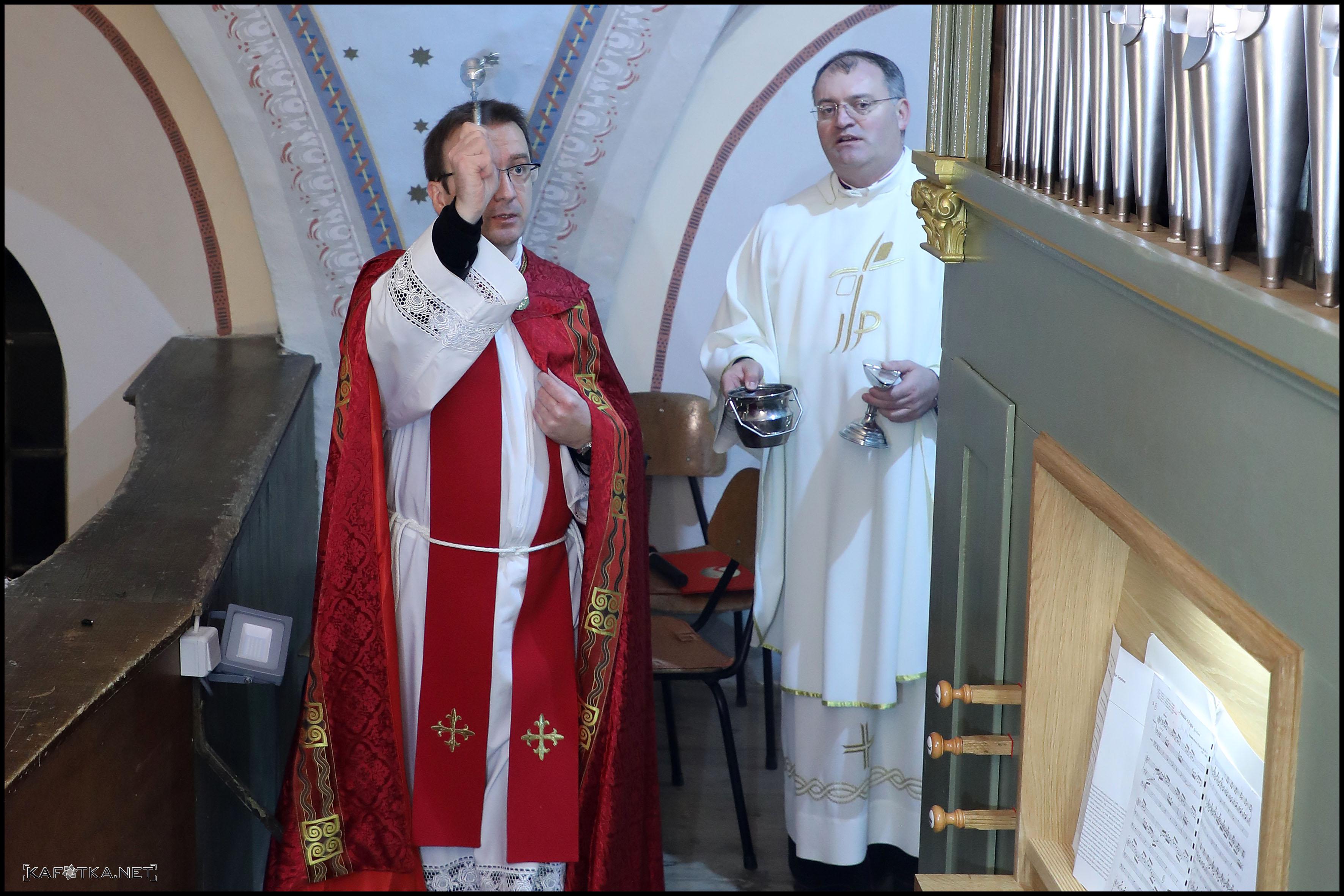 Kolaudacija obnovljenih orgulja u crkvi Majke Božje Snježne u Karlovcu 30. 11. 2017.