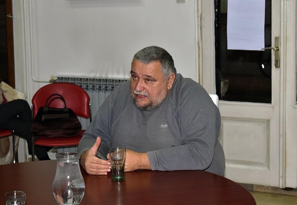 Polkaview Davor Gjenero, Knjižnica za mlade, Karlovac, 6. 12. 2017. Foto: Marinko Polović