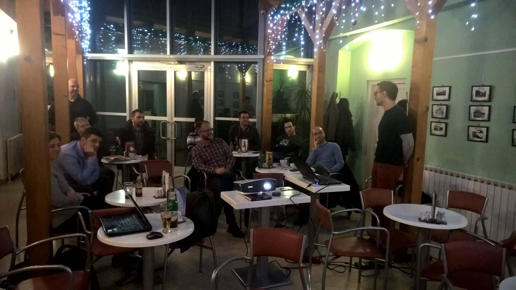 Karlovac Developers Meetup, Studentski centar Karlovac