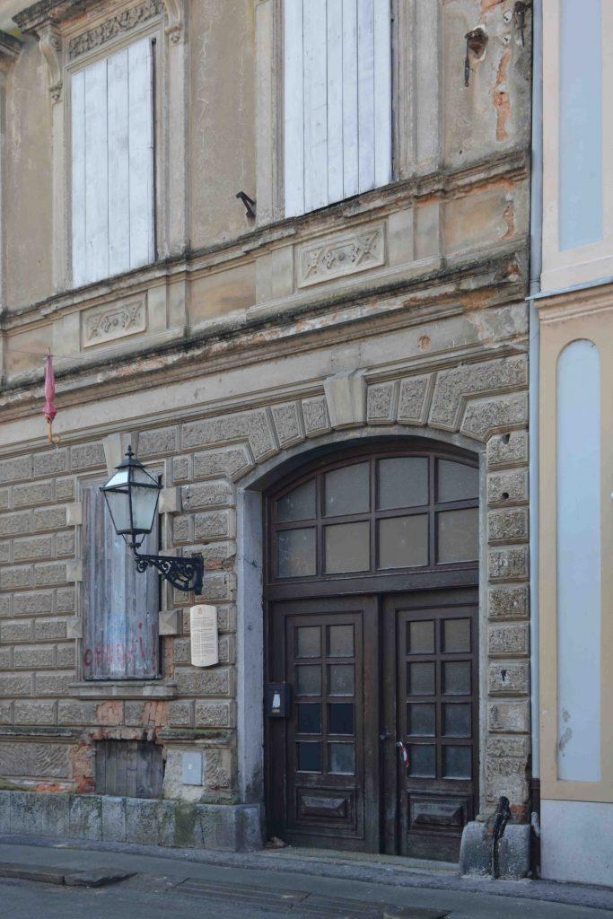 Zgrada Eparhije gornjokarlovačke, Karlovac, 23. 12. 2017. Foto: Miodrag Vasilj
