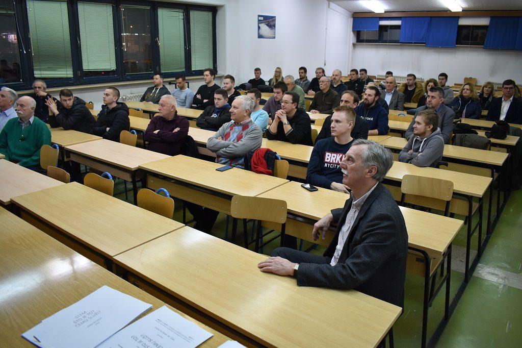 """Predavanje """"Što je STEM"""", Veleučilište u Karlovcu, 31. 1. 2018. Foto: Marin Bakić"""