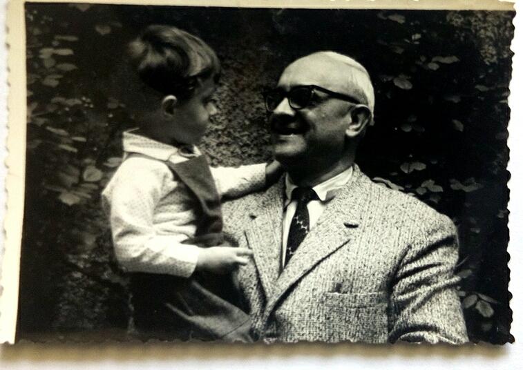 Alfons Ratković i Denis Mikšić. Izvor: Obiteljska arhiva