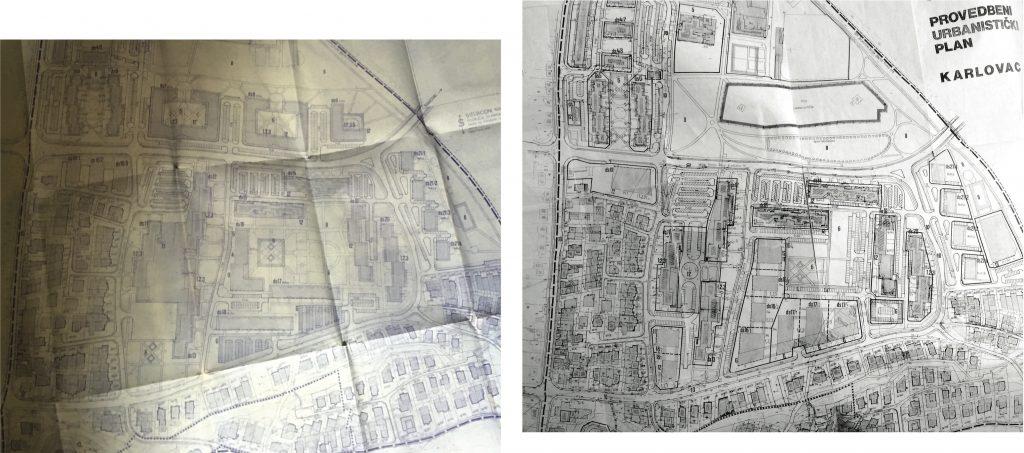 Grabrik. Izmjene i dopune plana od 1989. - 2004. godine uglavnom su rezultirale degradacijom početne ideje o naselju koje je prilagođeno pješaku - postupno je javni prostor parkova, rekreacijskih zona i središnjeg dječjeg vrtića smanjen u korist stambenih zona.