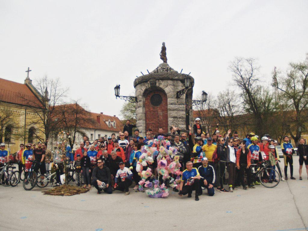 9. proljetna biciklijada Sportsko-rekreacijskog kluba Pedala laganini, 15. 4. 2018. Karlovac-Ozalj. Foto: Alenka Mance