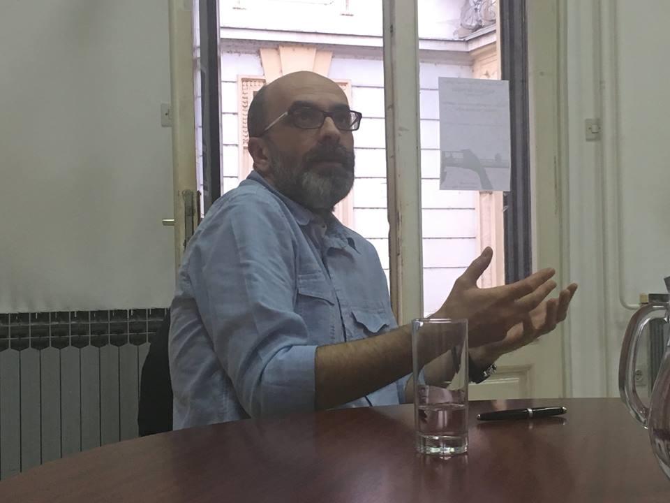 Ivica Đikić, Polkaview, Knjižnica za mlade, Karlovac, 25. 5. 2018. Foto Damir Kundić