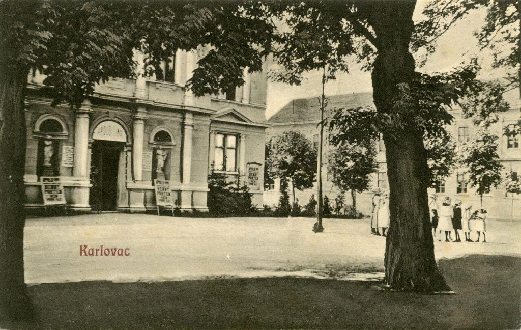 Zorin dom 1917. godine. Ustupio Marko Pekić