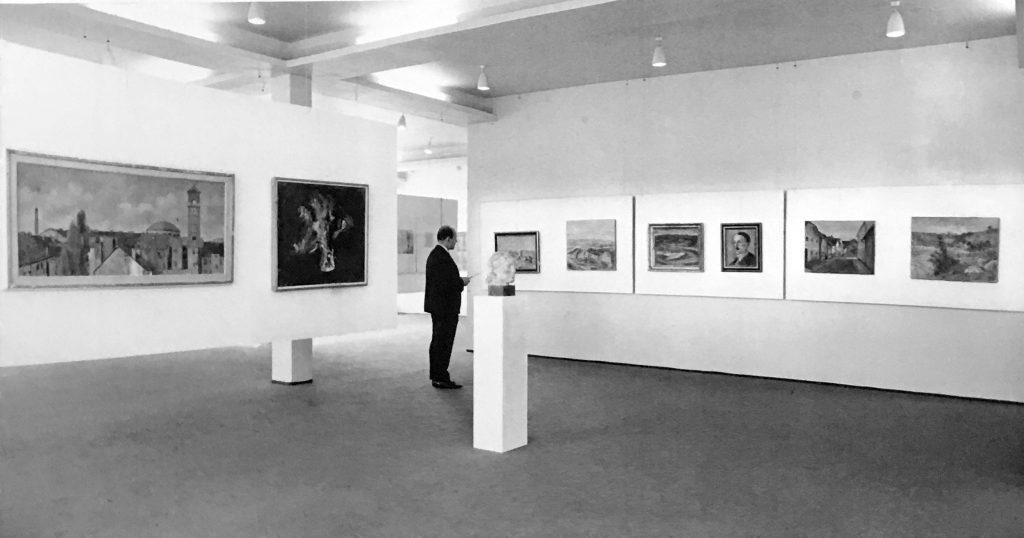Interijer Galerije slike na katu zgrade Auto-Hrvatske