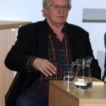 """Tribina """"Krleža i krležijanstvo"""" u Ilirskoj dvorani Gradske knjižnice """"Ivan Goran Kovačić"""", 10. prosinca 2013."""