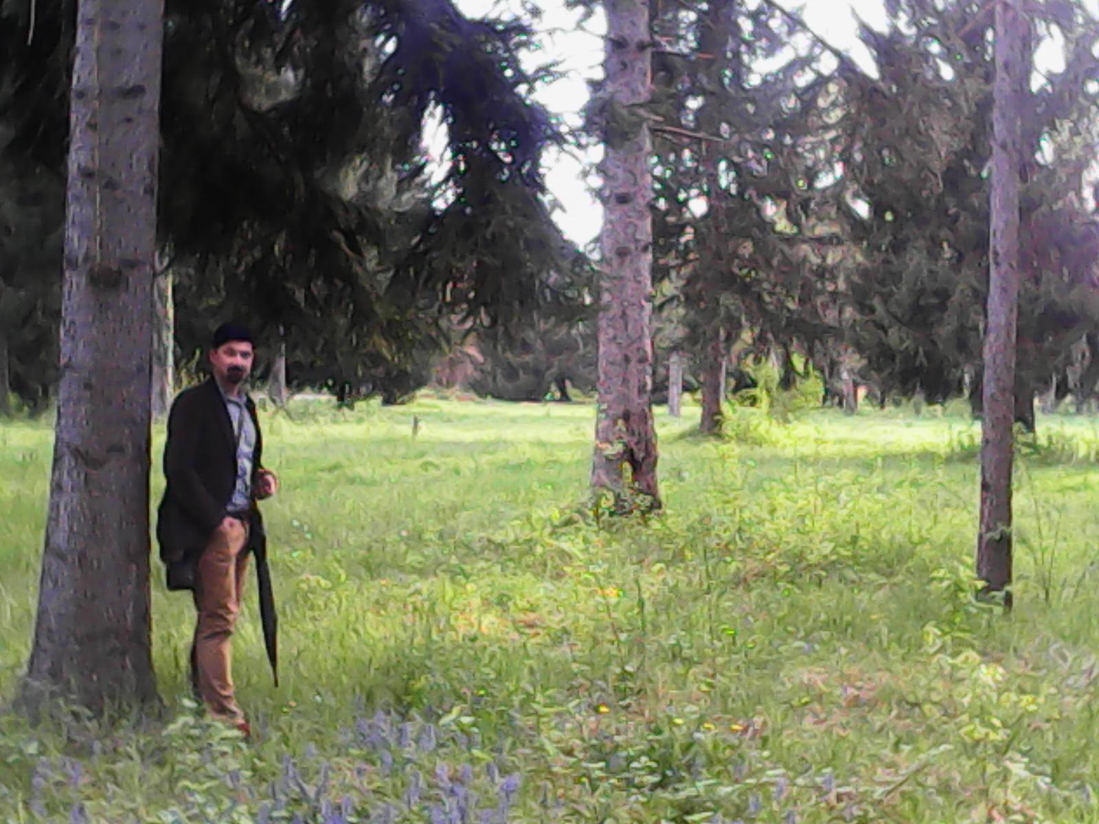 Antun Alegro, mlađi u parku vojarne Luščić. Foto: Marin Bakić