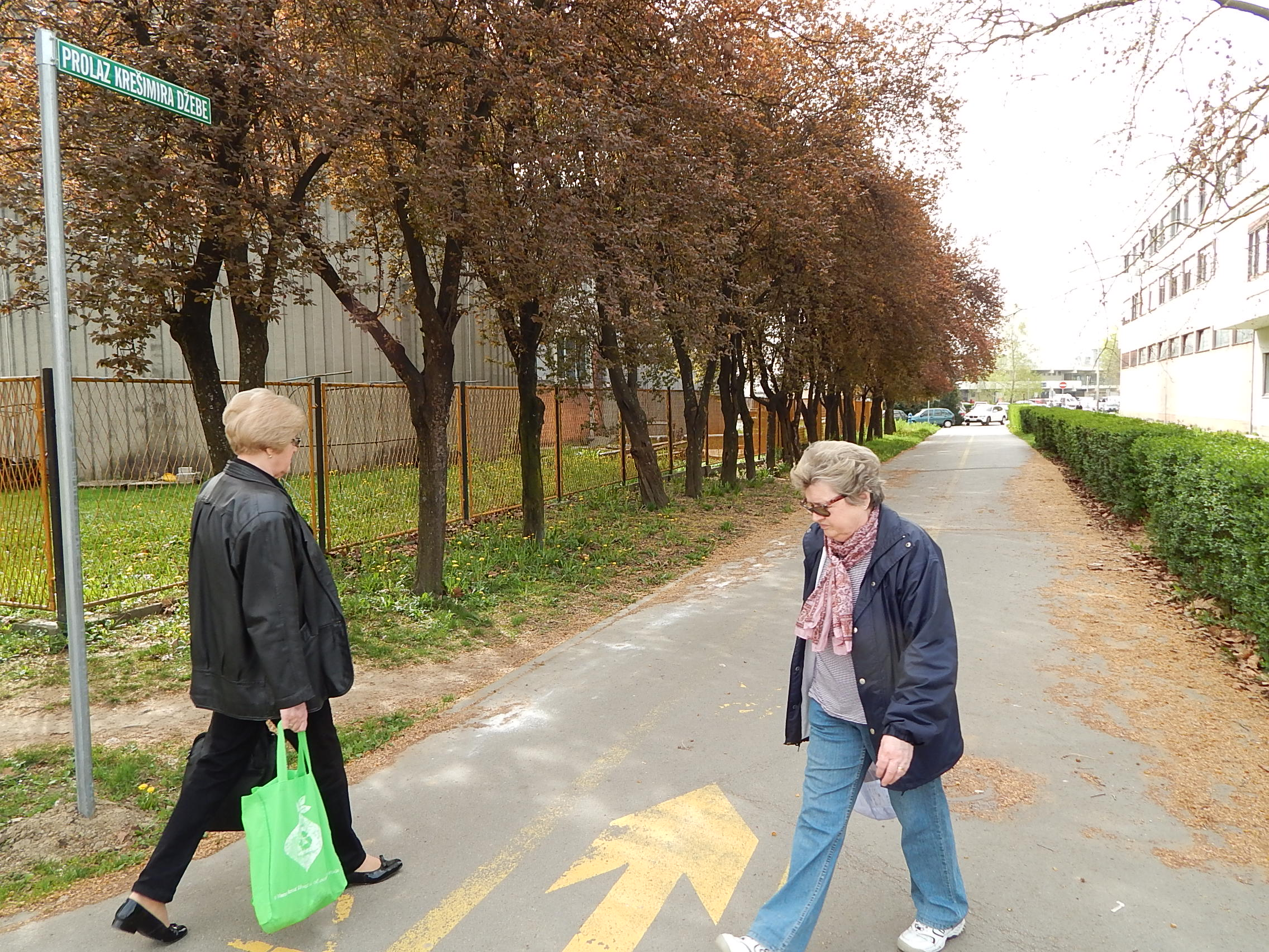 Prolaz Krešimira Džebe. Foto: Marin Bakić