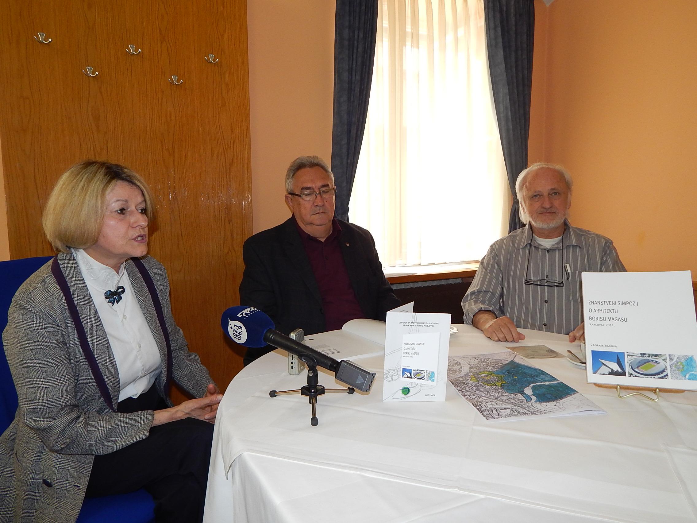 Marina Majoli, Zvonimir Gerber i Boris Morsan. Foto: Marin Bakić