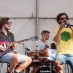 Na Festivalu DOK - festivalu za ljude dobre volje - u Kamanju je 10. 9. 2016. nastupio karlovački sastav Nos Tress. Foto: Denis Stošić