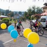 Nakon biciklijade 10. 9. 2016. na Festivalu DOK - festivalu za ljude dobre volje - podijeljen je grah. Foto: Denis Stošić
