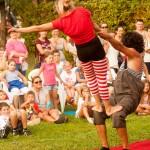 """U Kamanju je 10. 9. 2016. godine u sklopu Festivala DOK - festivala za ljude dobre volje - gostovao zagrebački kolektiv """"Cirkorama"""". Foto: Denis Stošić"""