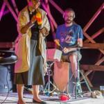 Nastup zagrebačkog sastava Željka at Ease u Kamanju 9. rujna 2016. godine na Festivalu DOK - festivalu za ljude dobre volje. Foto: Denis Stošić