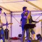 Karlovački bend The Nipples zaključio je 10. 9. 2016. godine drugi dan Festivala DOK - festivala za ljude dobre volje. Foto: Denis Stošić