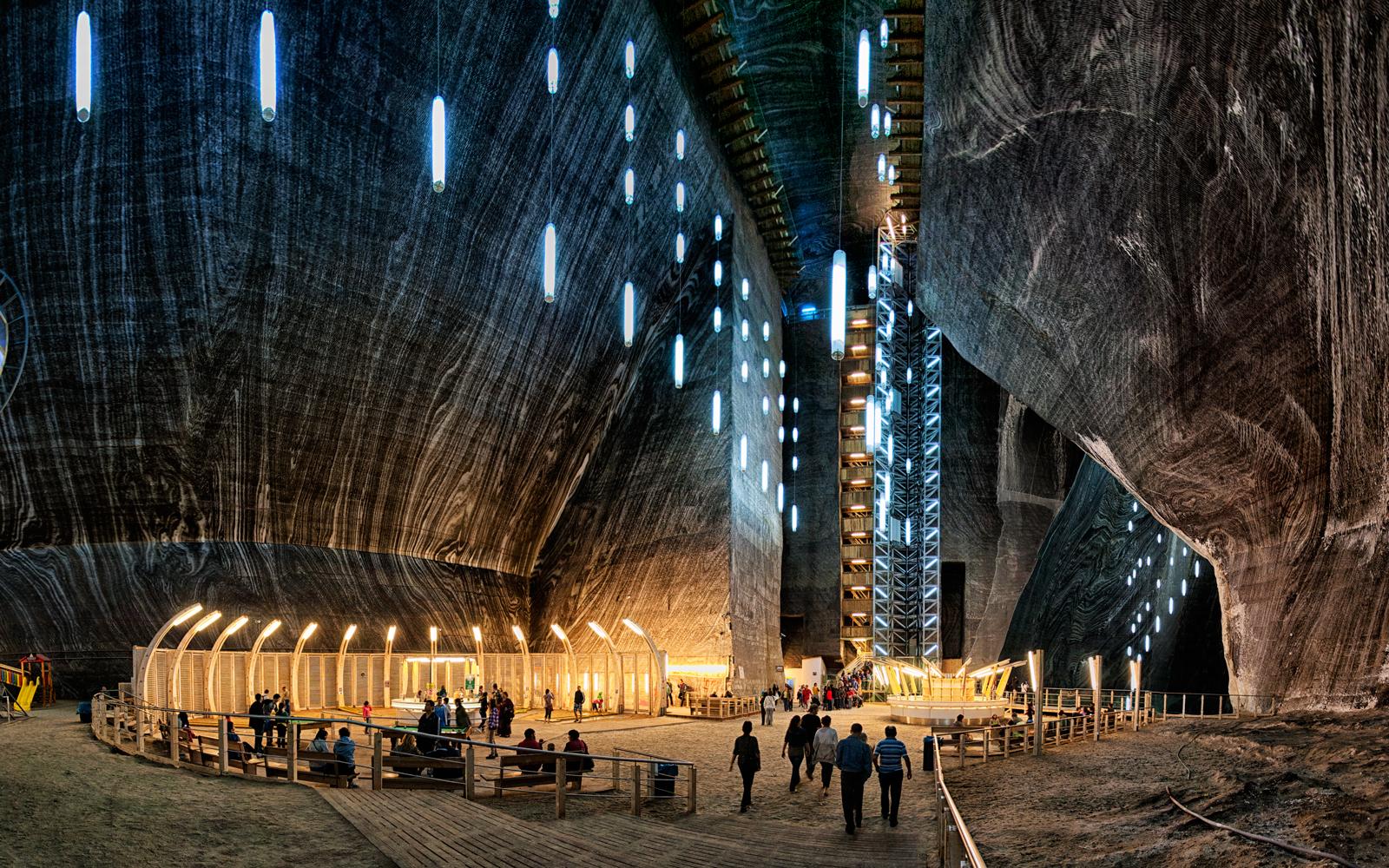 Prenamijenjen rudnik soli u rumunjskom gradu Turdi. Izvor: Wikipedia