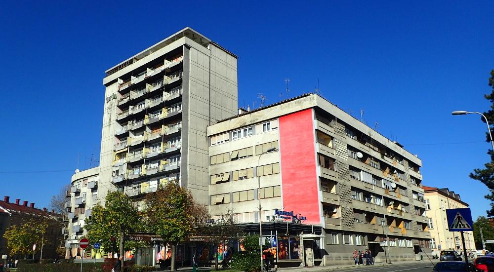 Neboder u Nazorovoj ulici. Foto: Denis Mikšić