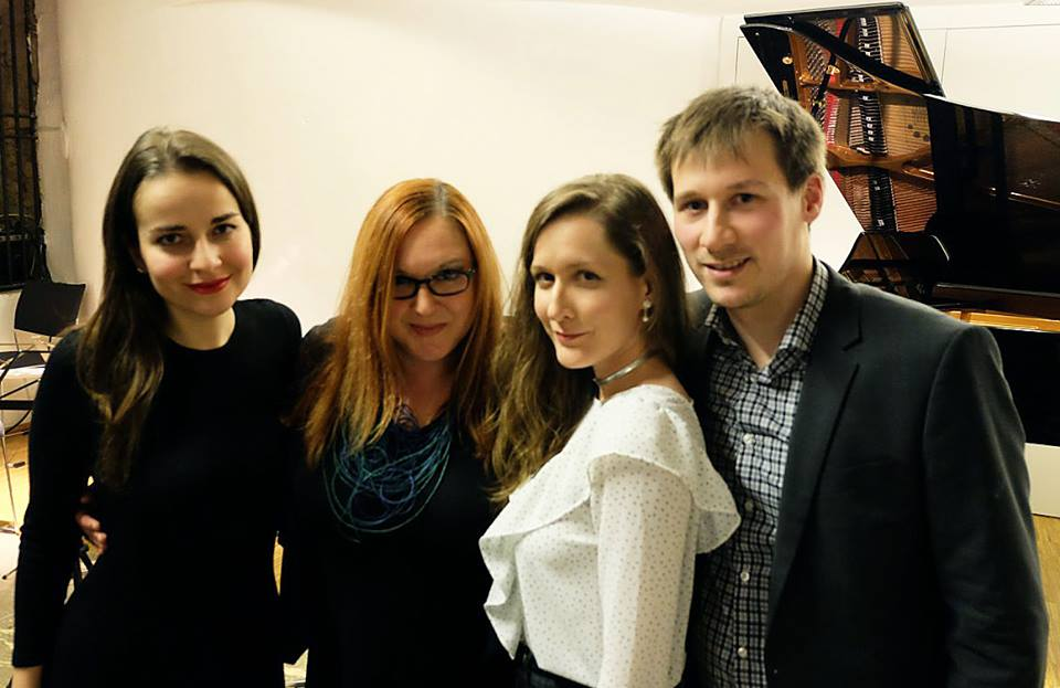 Lana Janjanin, Margareta Ferek Petrić, Mirela Ivičević, Marko Markuš. Izvor: Veleposlanstvo RH u RA